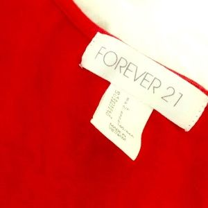 Red dress - forever21 -size s - only worn once